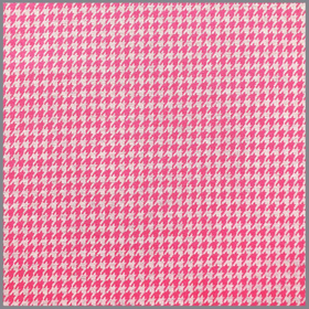 Jacquard Plaid Houndstooth pink