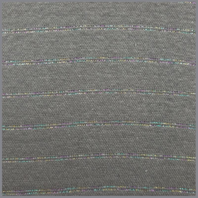 Bündchen Lurex  Multicolor stripes dunkelgrau