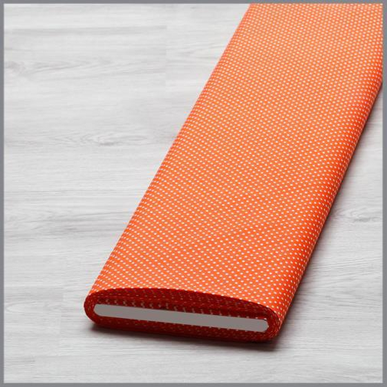 Baumwolle Punkte 2mm orange