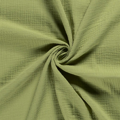 g nstige stoffe online kaufen musselin kiwi gr n. Black Bedroom Furniture Sets. Home Design Ideas