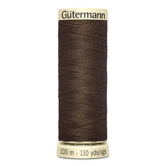 Gütermann 100m Nr. 222 - brownie dream Allesnäher